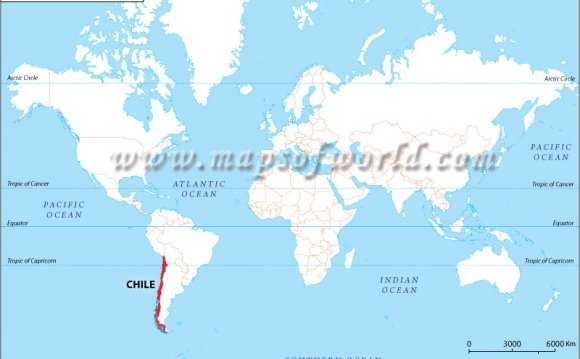 Chile Location Map