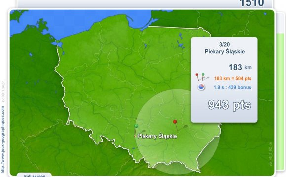 Poland Geography Map