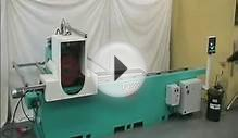 AUTOMATIC POLISHING MACHINE FOR FLAT METAL SURFACES type