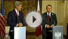 Secretary Kerry Delivers Remarks With Polish Foreign