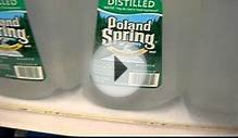 WTF IS DISTILLED WATER vs SPRING WATER ?! WATER CORPS. BE